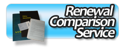 Renewal comparison service